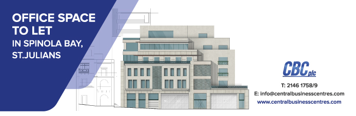 Office Space To Let - Spinola Bay, St. Julian's